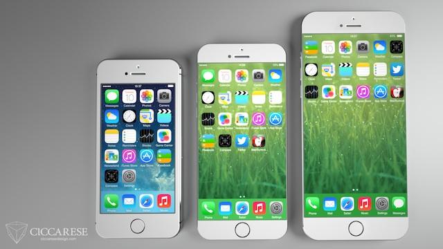 4.7インチや5.7インチの次期iPhoneはiPhone 5c風になる?