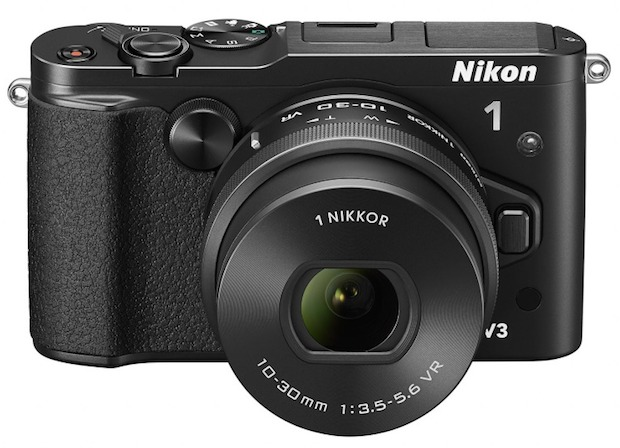 はやっ! 世界最速&世界最短なミラーレス「Nikon 1 V3」(動画あり)