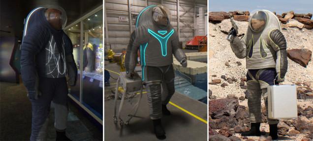 NASAの宇宙服デザインに投票できる! 3つの中で、どれがいい?