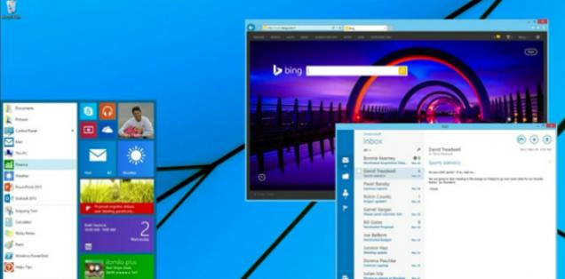 びっくり:Windowsのスタートメニューが…復活してる!