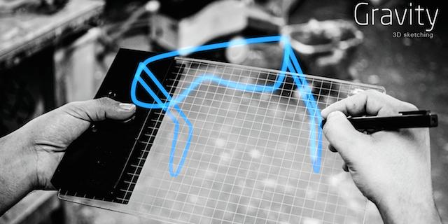 次元を超える。立体的なイメージを空間に描く次世代ペンタブ「Gravity」