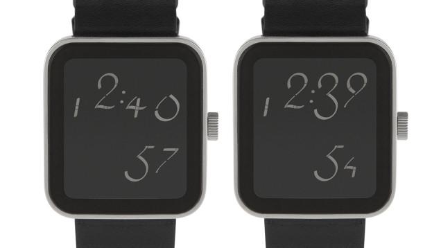 カリグラフィーでこんなに変わる。デジタル時計の再発明は文字盤から