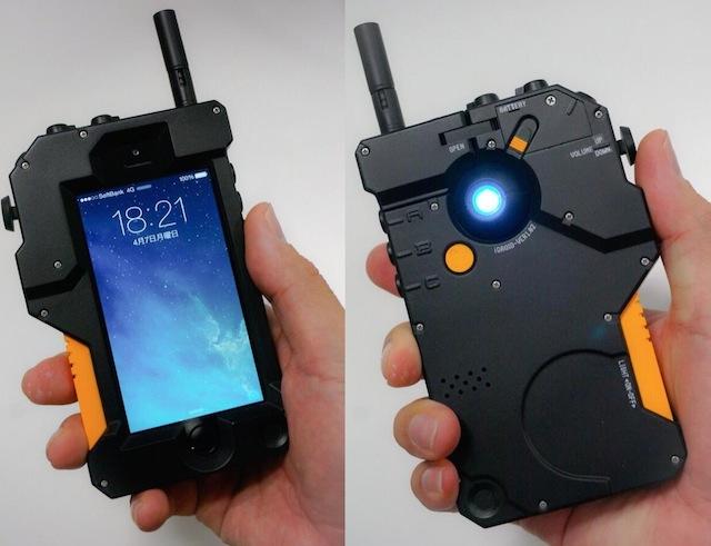 MGSVに登場するiDROID型iPhoneケースがやけにリアルっぽい