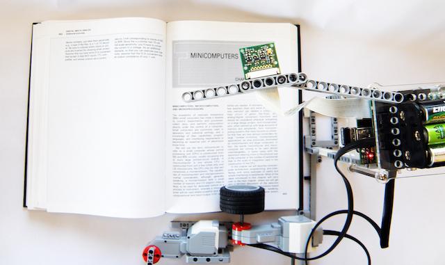 LEGOとRaspberry Piで作る、全自動自炊マシーン