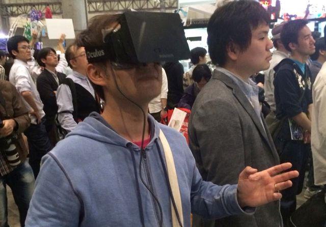 超会議で超ジャンプ。Oculus RiftでCCさくら気分に