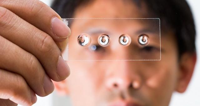 オーブンを使って1円以下で作る、DIYな顕微鏡レンズ