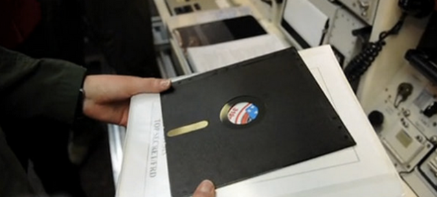 米軍の核サイロでは未だにフロッピーディスクを使っている