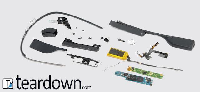 Google Glassのコストはたったの約80ドルらしい