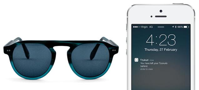 この夏はサングラスをなくさない、iBeaconを利用したサングラス「Tzukuri」