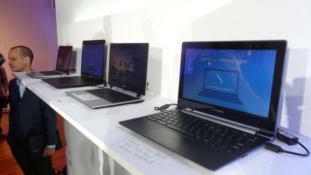 インテルから新Chromebook発表、Haswell搭載機も