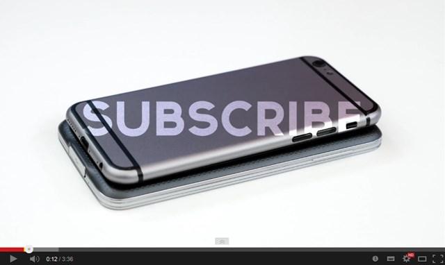 【今日のモックアップ】iPhone 6はGalaxy S5よりプチ小さい