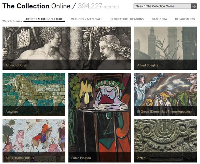 メトロポリタン美術館、40万もの作品のハイレゾ画像を一般公開