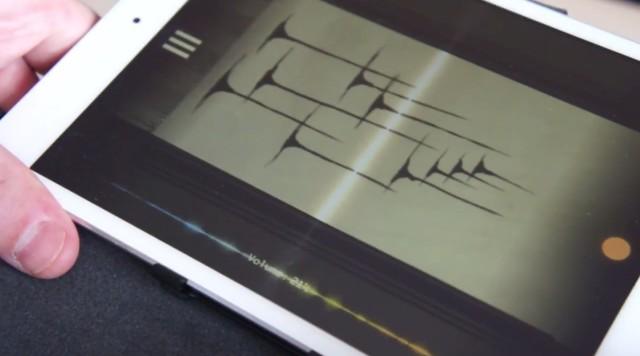 落書きを音に変換して遊べるアプリ「PhonoPaper」