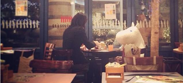 ムーミン谷から「お連れ様」を貸す日本の飲食店、羨ましいと海外で話題