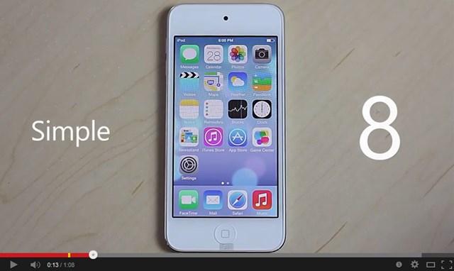 ホーム画面のカスタム性が大幅アップなiOS8コンセプトムービー