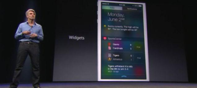 iOSにもやっとウィジェットがきたよ