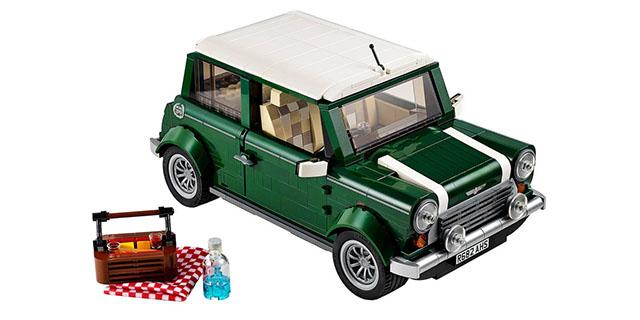 レゴで作られた可愛くてリアルなミニクーパーが発売へ