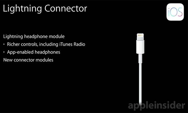 ヘッドフォンもLightningケーブル対応へ
