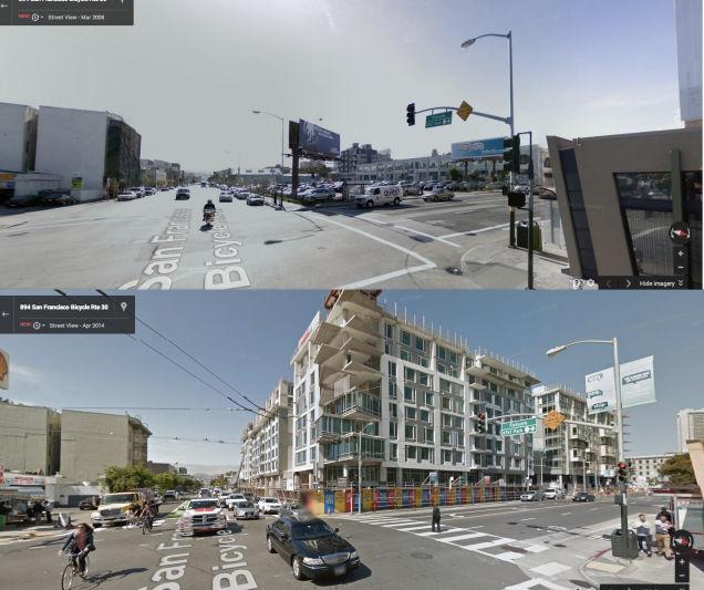 グーグルストリートヴューで見るサンフランシスコの変化