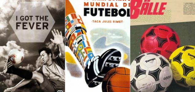 1930年から2014年までW杯公式ボールを振り返ってみた