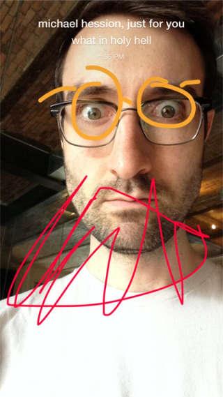 フェイスブックSlingshotハンズオン:Snapchatの使いにくい版