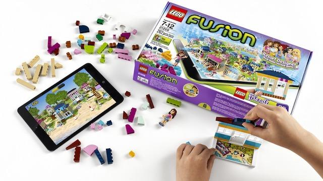 レゴでヴァーチャル世界に自分だけの街を作れる「LEGO Fusion」