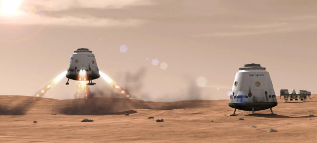 SpaceX社CEO曰く、2026年までに人類初の火星着陸が実現