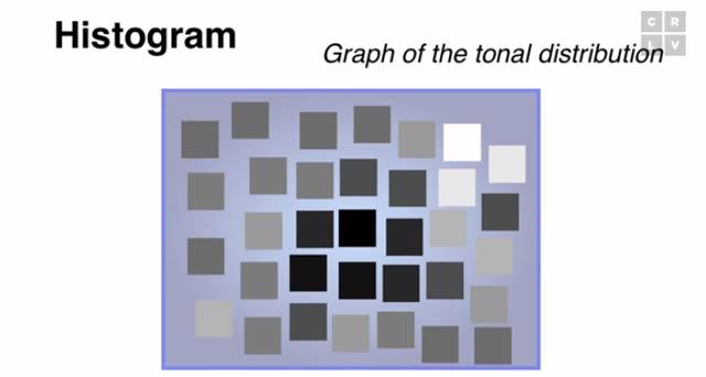 よくカメラの表示でみる「ヒストグラム」って何ですか?