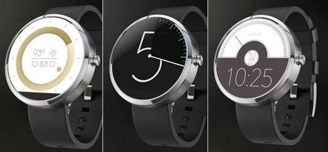 Motorolaのスマートウォッチ、応募数1,300点から採用されるデザインはどれ?