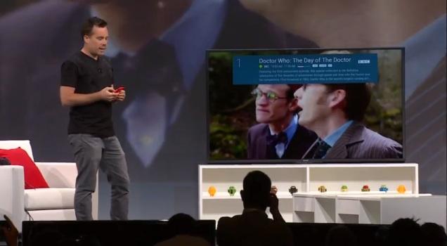 グーグルが新TVプラットフォーム「Android TV」発表