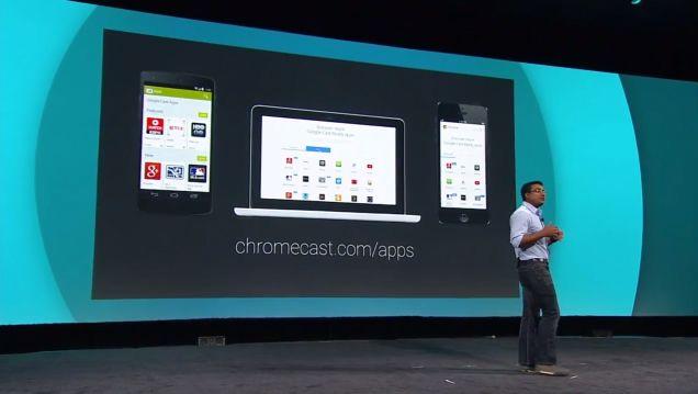 Chromecastも大幅アップデート、端末とのフルミラーリングも可能に