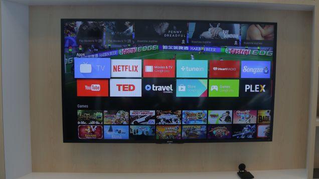 「Android TV」ハンズオン:グーグル流のスマートTV、ついに実現