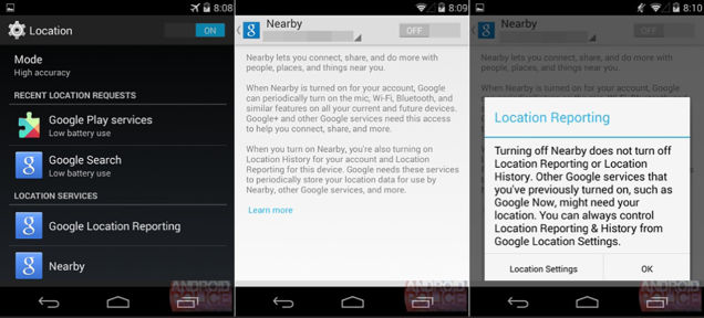 Androidに新機能「Nearby」が来る?