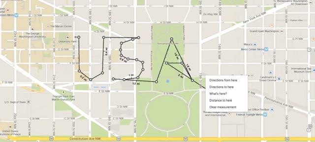 グーグルマップに新機能:直線距離を測れるように