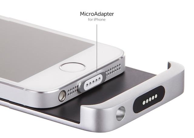 MagSafe感覚で充電できるiPhoneのバッテリーケース