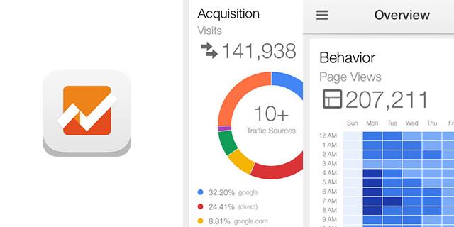 Google アナリティクスがついにiPhoneアプリに