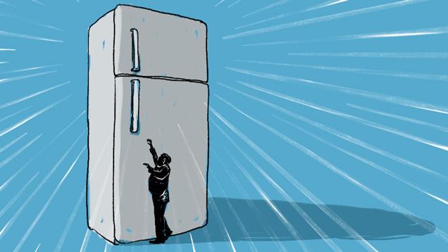 アメリカ人冷蔵庫デカ過ぎ。肥満と浪費の元