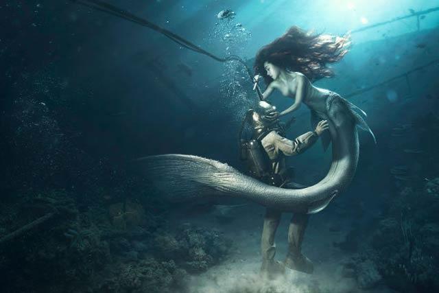 「もしかして、人魚は本当にいるんじゃないか」と思う画像