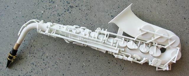 世界初3Dプリントで作られたサックス、さてその音色は?