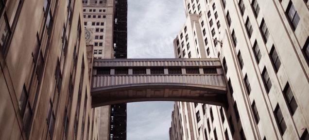 ニューヨークのスカイブリッジ。それは「かつて夢見た未来」