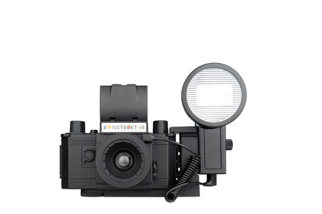 DIYカメラ「Konstruktor」がフラッシュ対応になったよ