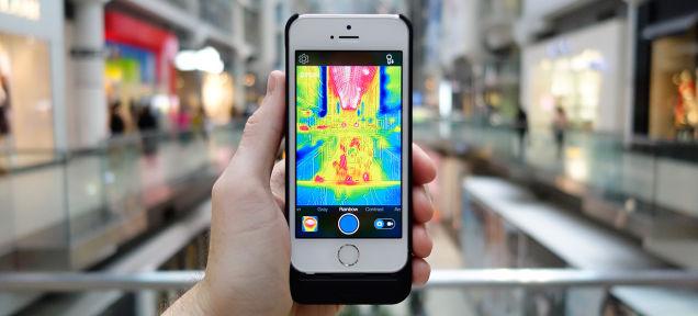 iPhoneが赤外線カメラになるFLIR ONE、使い道16選