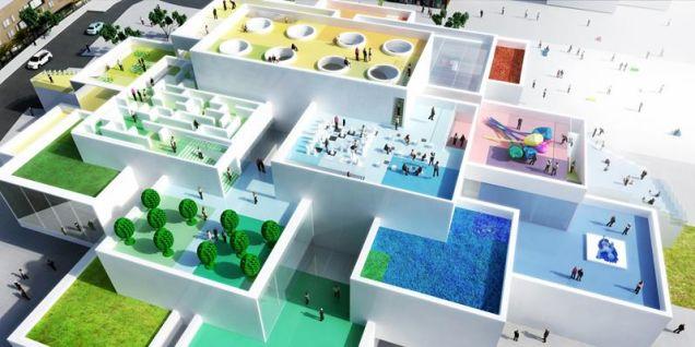 レゴの聖地「Lego House」が着工、リアル・レゴブロックがお披露目
