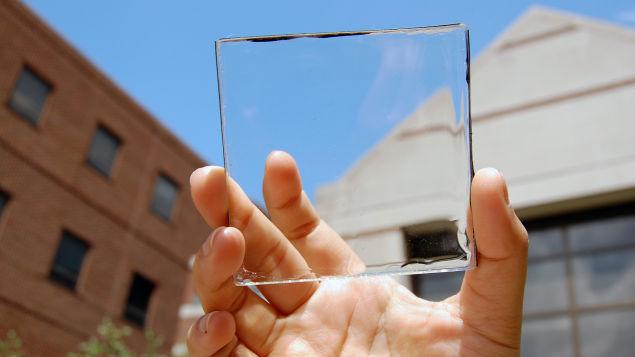 透明ソーラーパネル開発。スマホの充電機が不要になるかもしれない