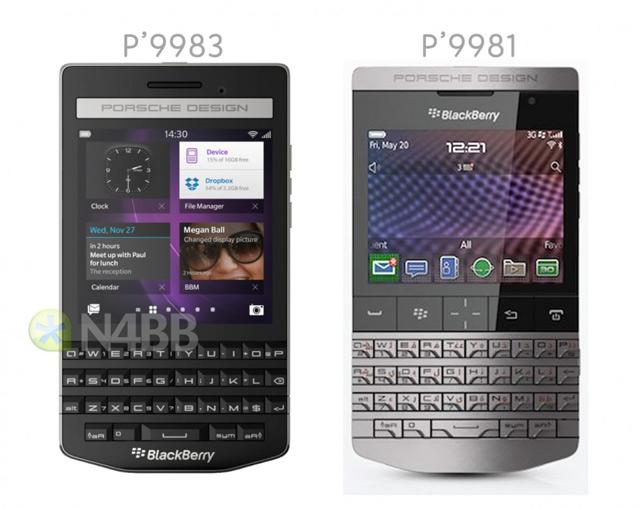 ポルシェデザインの新BlackBerry P'9983、物理キーボードを復活