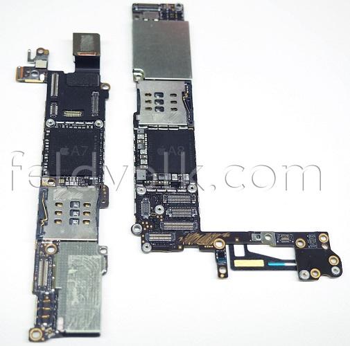 流出したiPhone 6らしき基板にNFCチップ・A8プロッサ・1GB RAMを確認