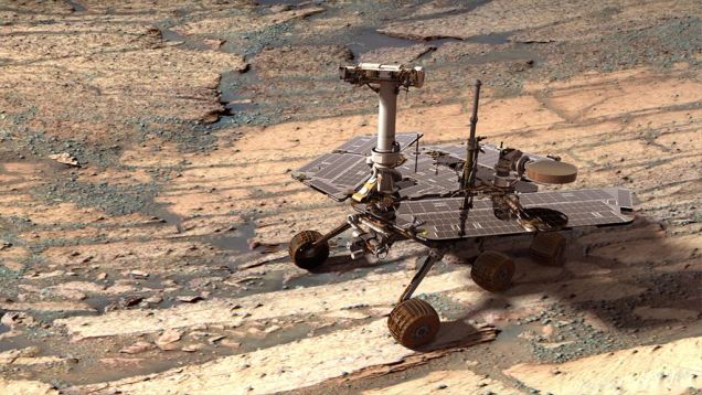 NASA、火星探査車のフラッシュメモリを2億km彼方から遠隔初期化