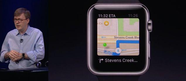 Apple Watchは曲がり角にくると、ブルブルッと教えてくれる