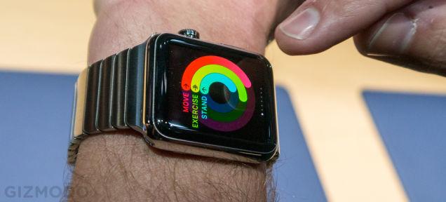 Apple Watch、速攻ハンズオン