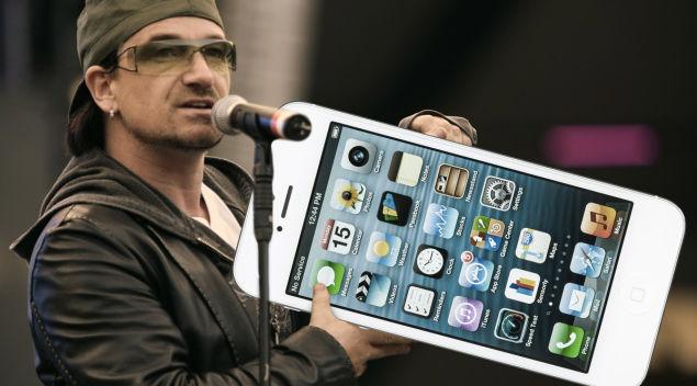 U2のニューアルバム、iTunesで無料配信